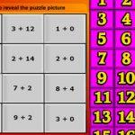 Math picture puzzle