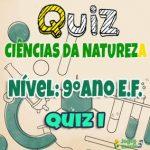 Ciências da Natureza – 9º Ano EF – 01