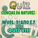 Ciências da Natureza – 9º Ano EF – 08
