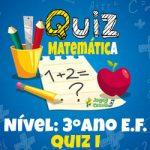 Matemática – 3º Ano EF – 01