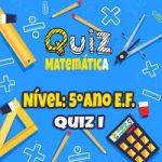 Matemática – 5º Ano EF – 01