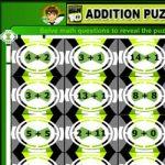 Adição com enigma do Ben 10