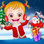 Baby Hazel em surpresas de Natal
