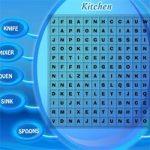 Caça-palavras cozinha