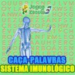 Caça-palavras Sistema imunológico