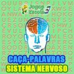 Caça-palavras Sistema nervoso