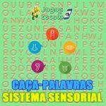 Caça-palavras Sistema sensorial