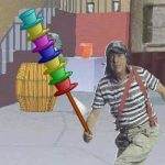 Chaves equilibrista