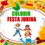 Colorir Festa Junina