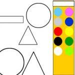 Colorir formas geométricas