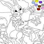 Colorir a lebre