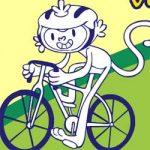 Colorir mascotes Rio 2016