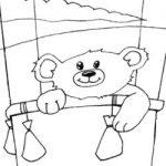 Colorir urso II