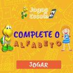 Complete o alfabeto