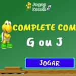Completar com g ou j – I