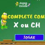Completar com x ou ch – I