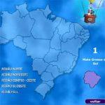 Complete o mapa do Brasil