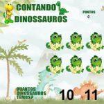 Contando dinossauros