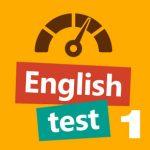 English Test 1