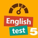 English test 5