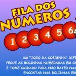 Fila dos números