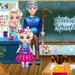 Frozen school day