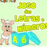 Jogo das letras e números