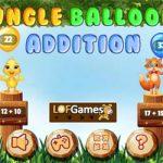 Balões da adição na floresta