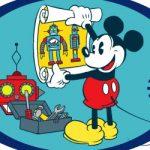 Lab de robôs do Mickey