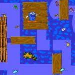 Labirinto planeta azul