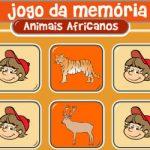 Memória animais africanos