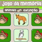 Memória animais extinção