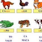 Nome dos animais