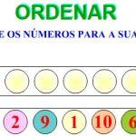 Ordenar de 1 a 10