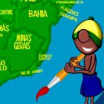 Pintando as regiões do Brasil