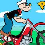 Popey e sua moto