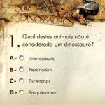 Quiz dinossauros brasileiro II