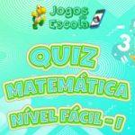 Quiz matemática fácil – I
