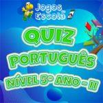Quiz português 5º Ano II