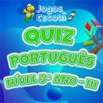 Quiz português 5º ano III