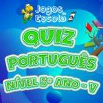 Quiz português 5º ano V