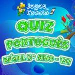 Quiz português 5º ano VII