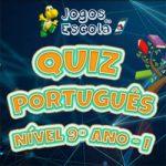 Quiz português 9º ano I