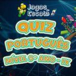Quiz português 9º ano IX