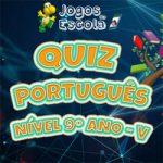 Quiz português 9º ano V