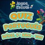Quiz português 9º ano VIII
