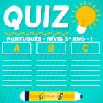Quiz português EF 3º ano – I