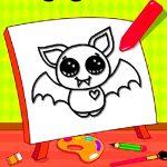 Colorir o morcego