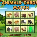 Animals Cards Match