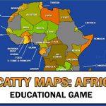 Monte o mapa da África